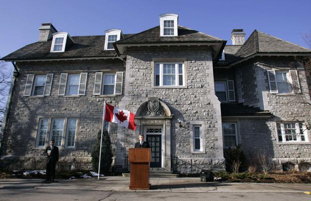 Stephen Harper rezidenciája Ottawában